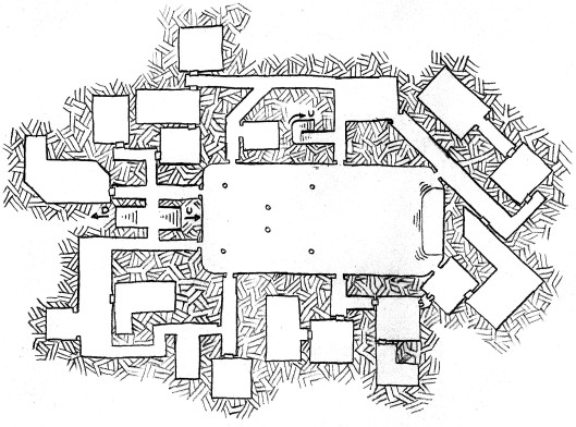 The Demon Hall - Lower Level