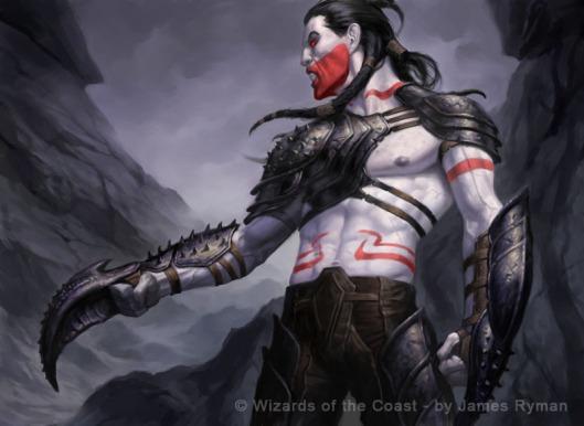 Assassin illo by James Ryman (c) Wizards of the Coast