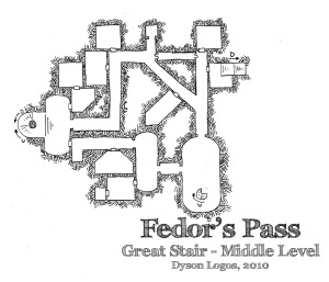 Fedor's Pass - Great Stair Middle Level