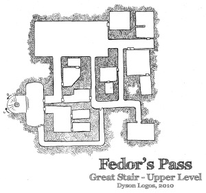 Fedor's Pass - Great Stair Upper Level