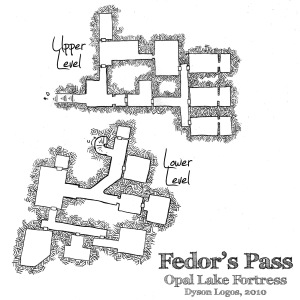 Fedor's Pass - Opal Lake Fortress