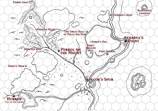 The Atharva Plateau DM Map