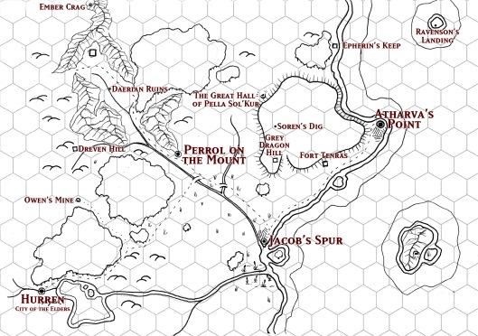 The Atharva Plateau DM Map