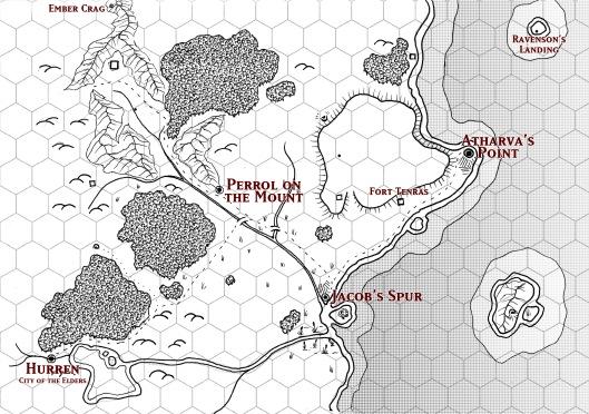 The Atharva Plateau Players' Map
