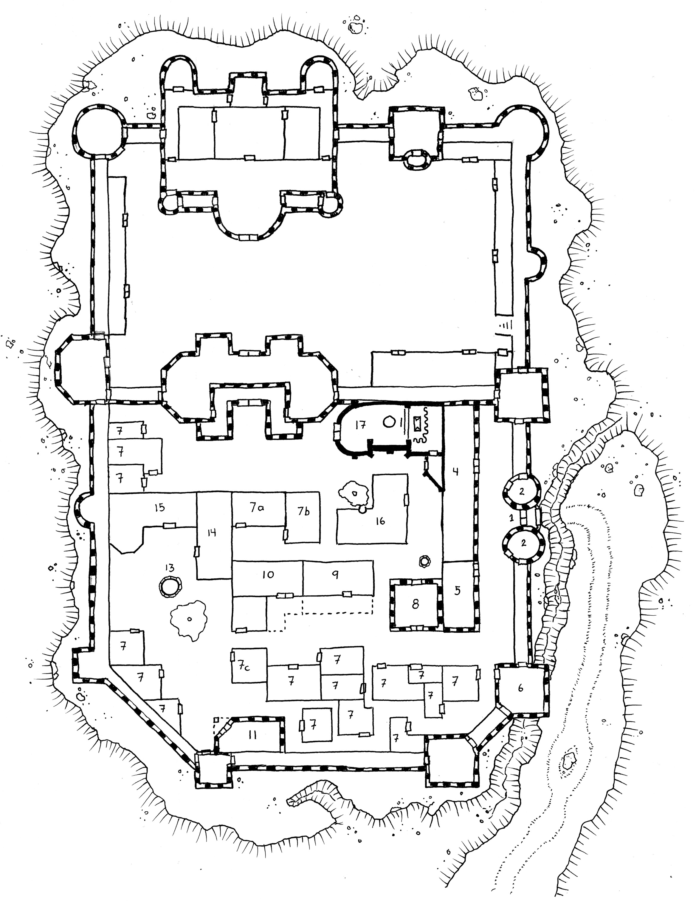 Tuesday Map The Castellans Keep Dysons Dodecahedron