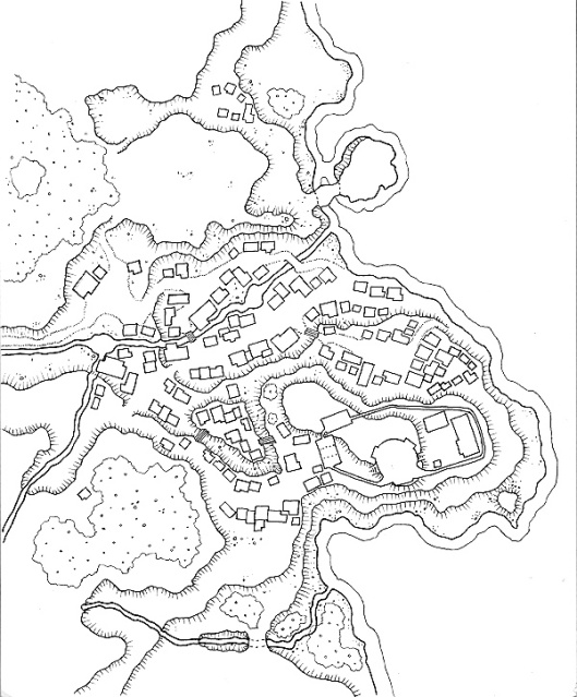 A town in inhospitable lands