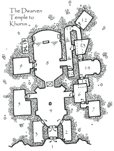 The Dwarven Temple to Khorus