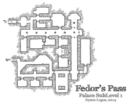 Fedor's Pass - Palace Sublevel 1