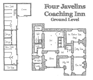 Four Javelins Coaching Inn - Ground Level