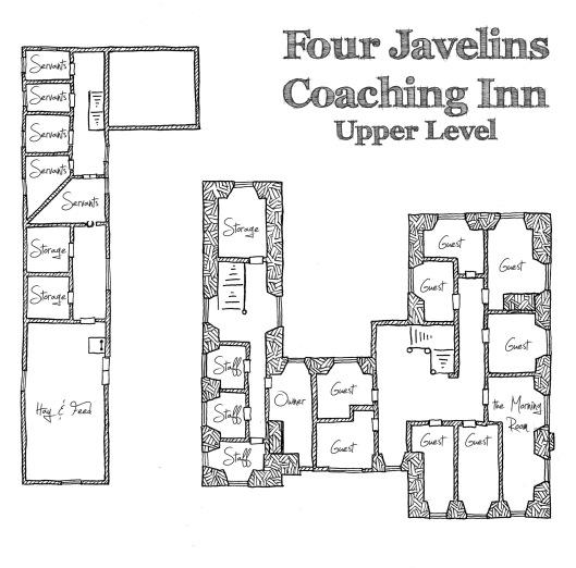 Four Javelins Upper Level