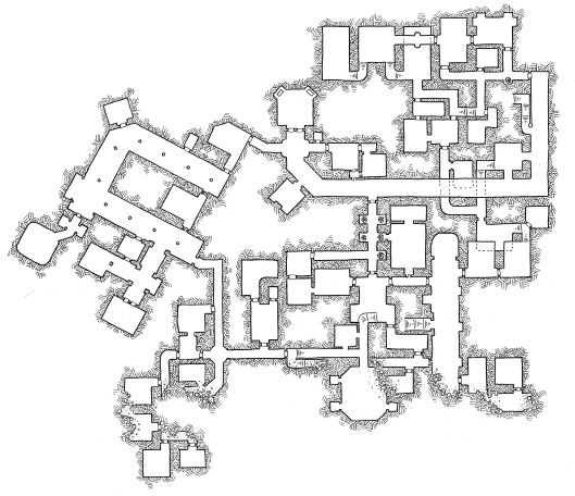 friday map  beneath the ruined palace