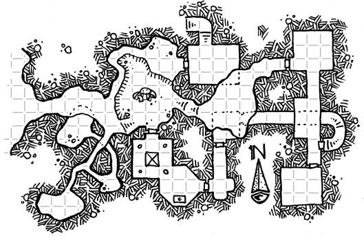 Hesporus Cave - Gridded