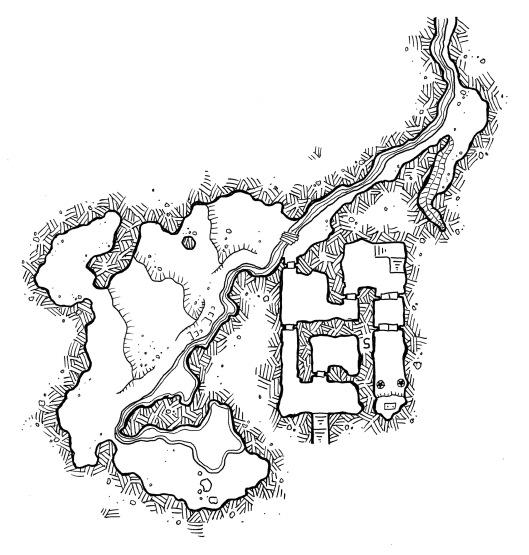 Cannibal Cave (no grid)