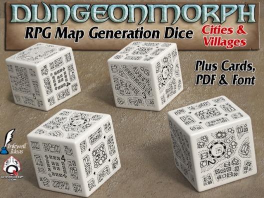 DungeonMorph Dice - Cities & Villages
