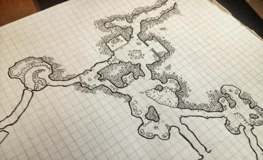 Caves in Progress 3