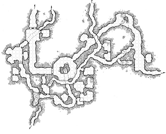 Rat Folk Tunnels (with grid)