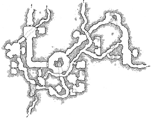 Tunnels of the Rat Folk (no grid)