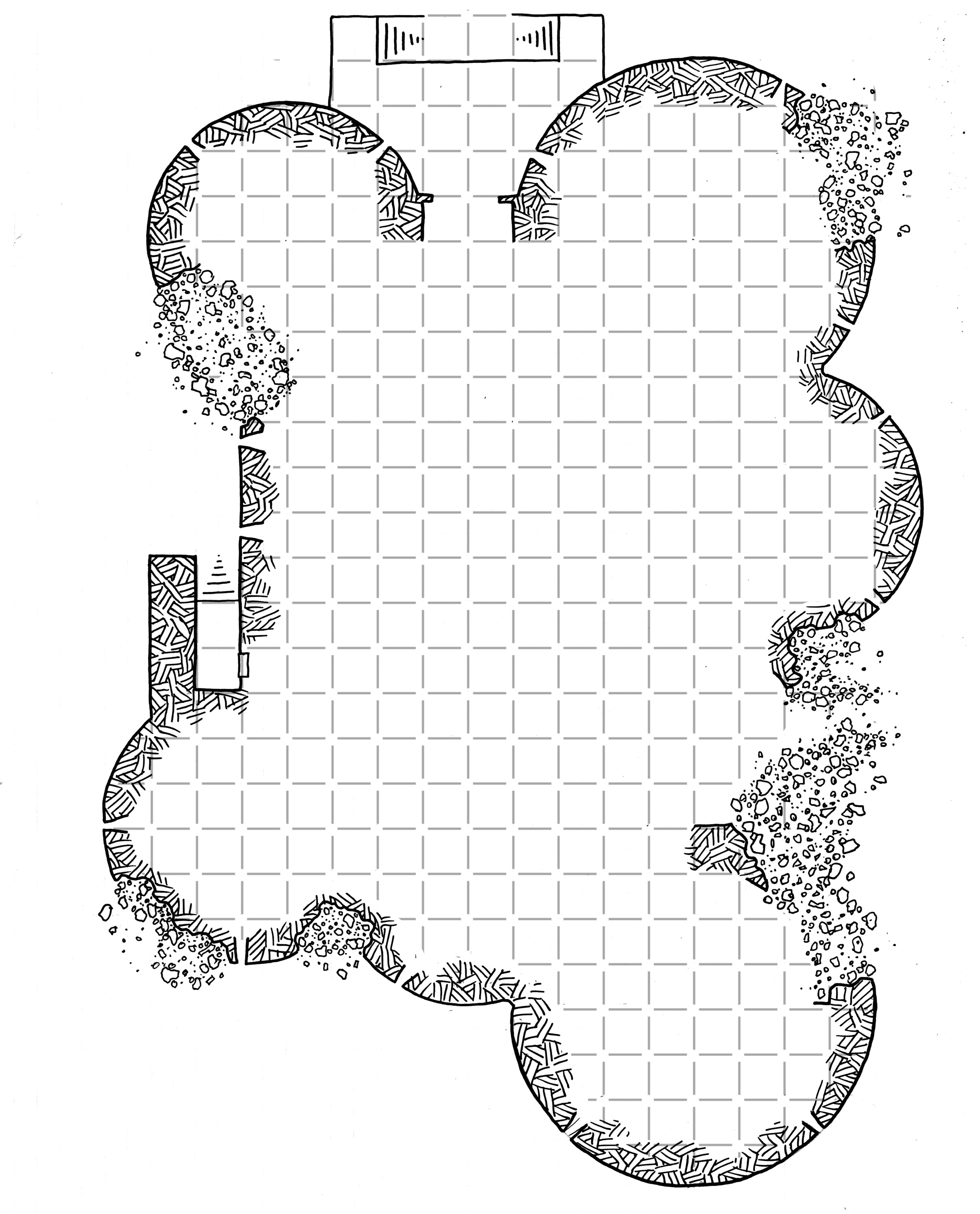 photograph about Cragmaw Hideout Printable Map identified as Friday Map] Cragmaw Castle Gamers Map Dysons Dodecahedron