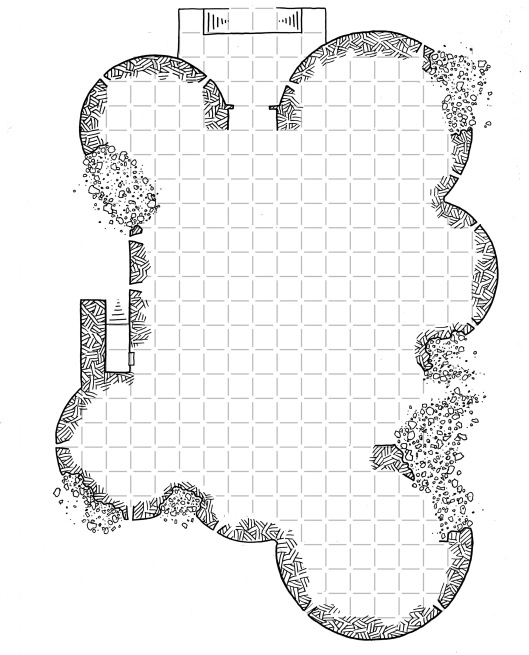 Cragmaw Castle Player Map