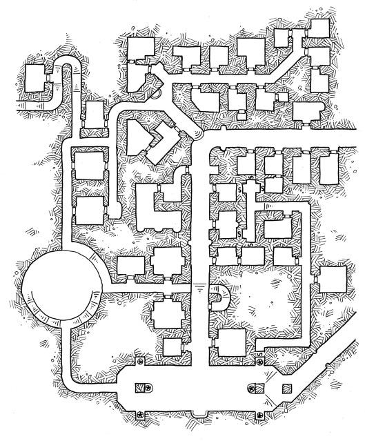 Hall of Bronze (no grid)