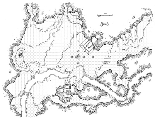 Lost River Cave (West) (with Grid)