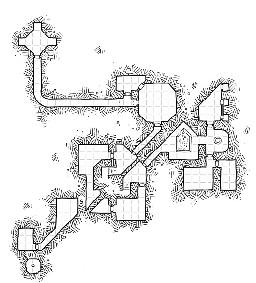 Under the Lost River Temple (grid)