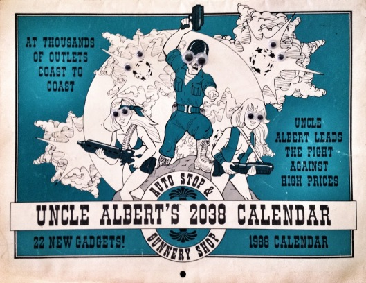 Uncle Albert's 2038 Calendar