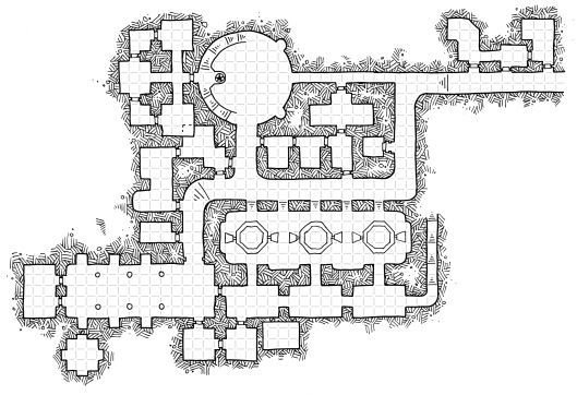 Iron Halls (with grid)