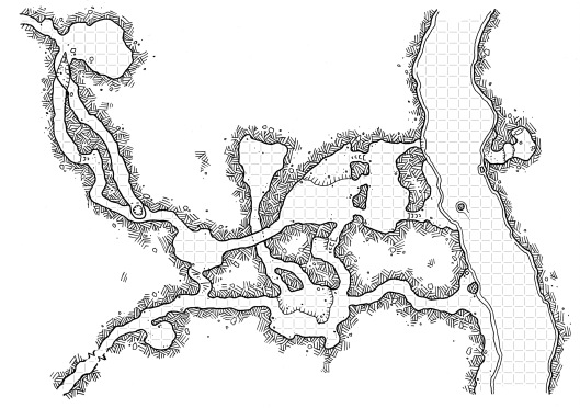 Lost River (with Grid)