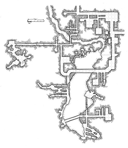 Thunder Mine (with grid)