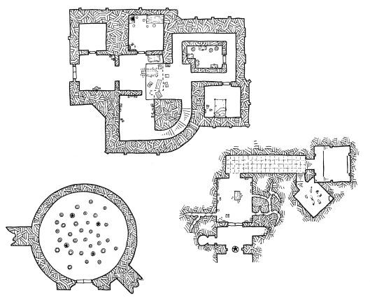Castle Gargantua Constructions (no grid)