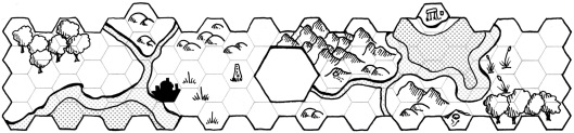 Hex Map Vignette (with screens)