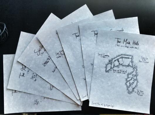 Secret Maps - Printed