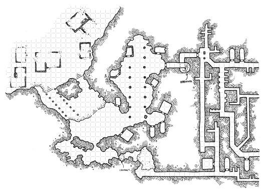 The Necropolis of Bryn Mynnyd (with grid)
