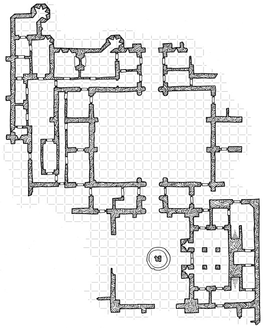 The Incomplete Palace (with grid)