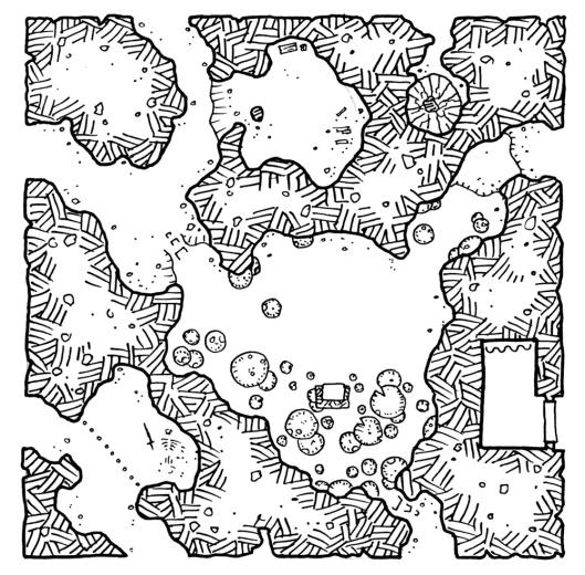 The Mushroom Throne Geomorph