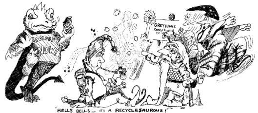 recyclesaurous