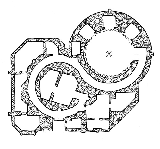 The Spiral Temple (no grid)