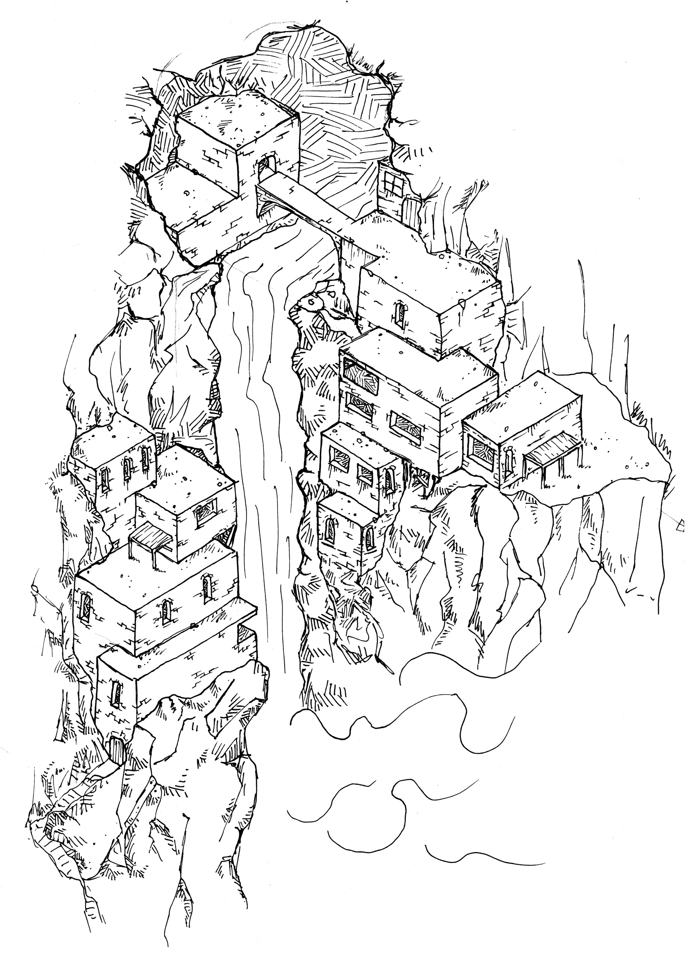 [Tuesday Map] Kabus' Retreat – The Monastery in the Mists ...