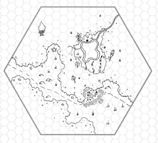 6 Mile Hex - The Honeyed Forest