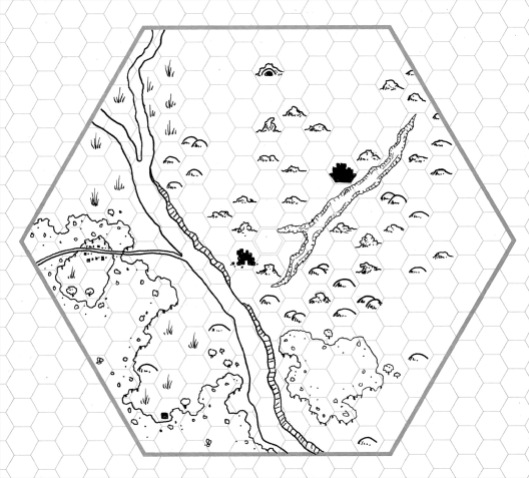 Six Mile Hex - the Slate Badlands
