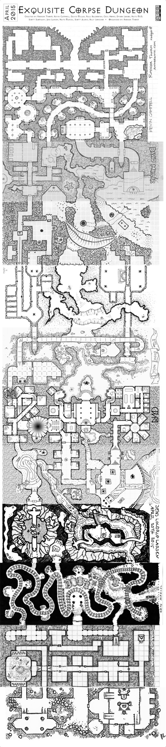 The Exquisite Corpse Dungeon