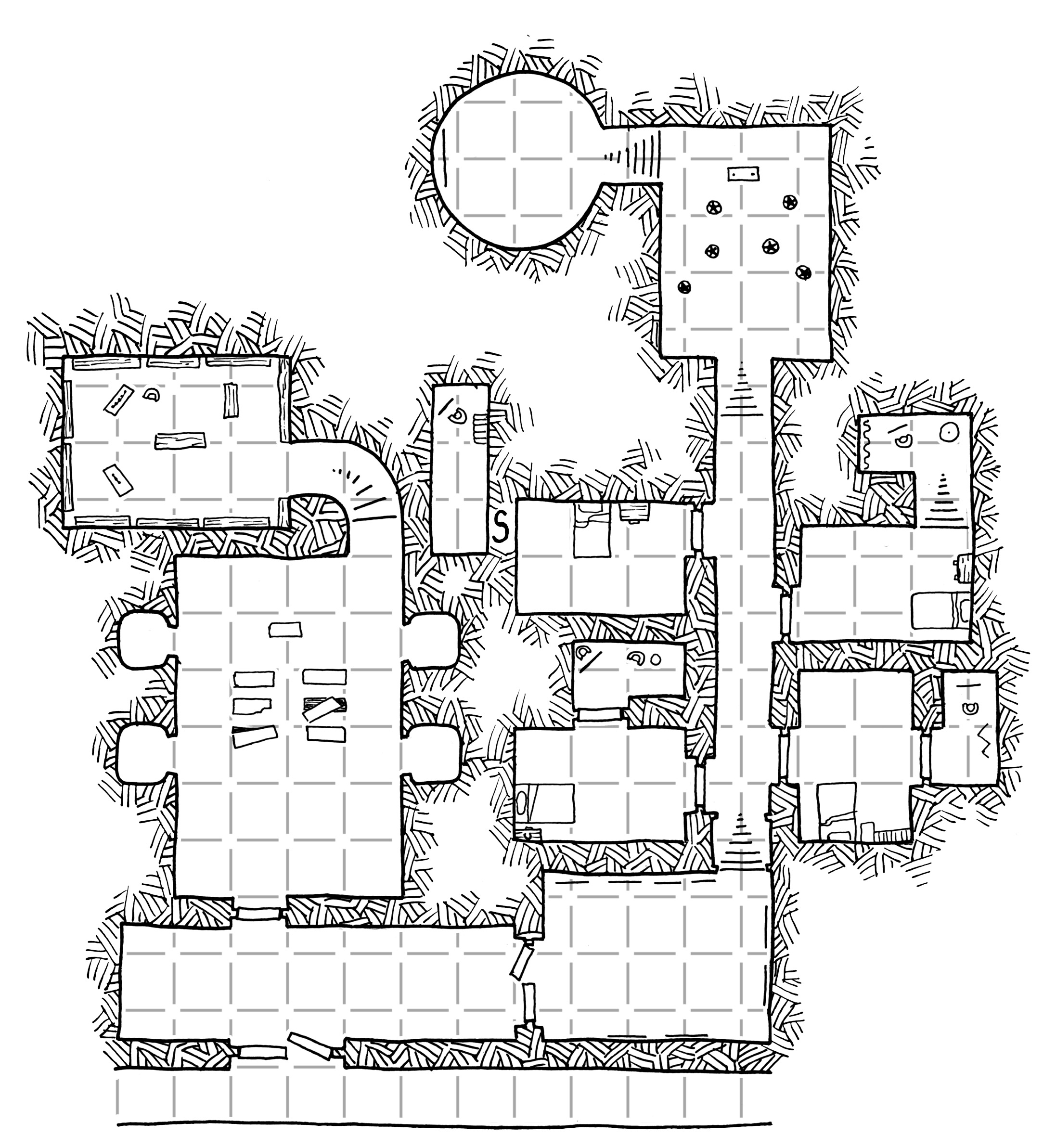 Tuesday Map] Final Forays into Castle Gargantua | Dyson\'s Dodecahedron