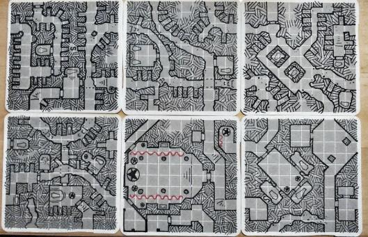 Six Crypt Geomorphs