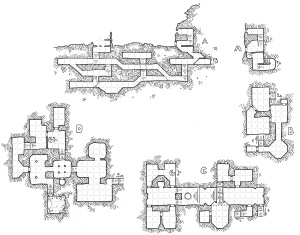 Sparrow's Fort (with grid)