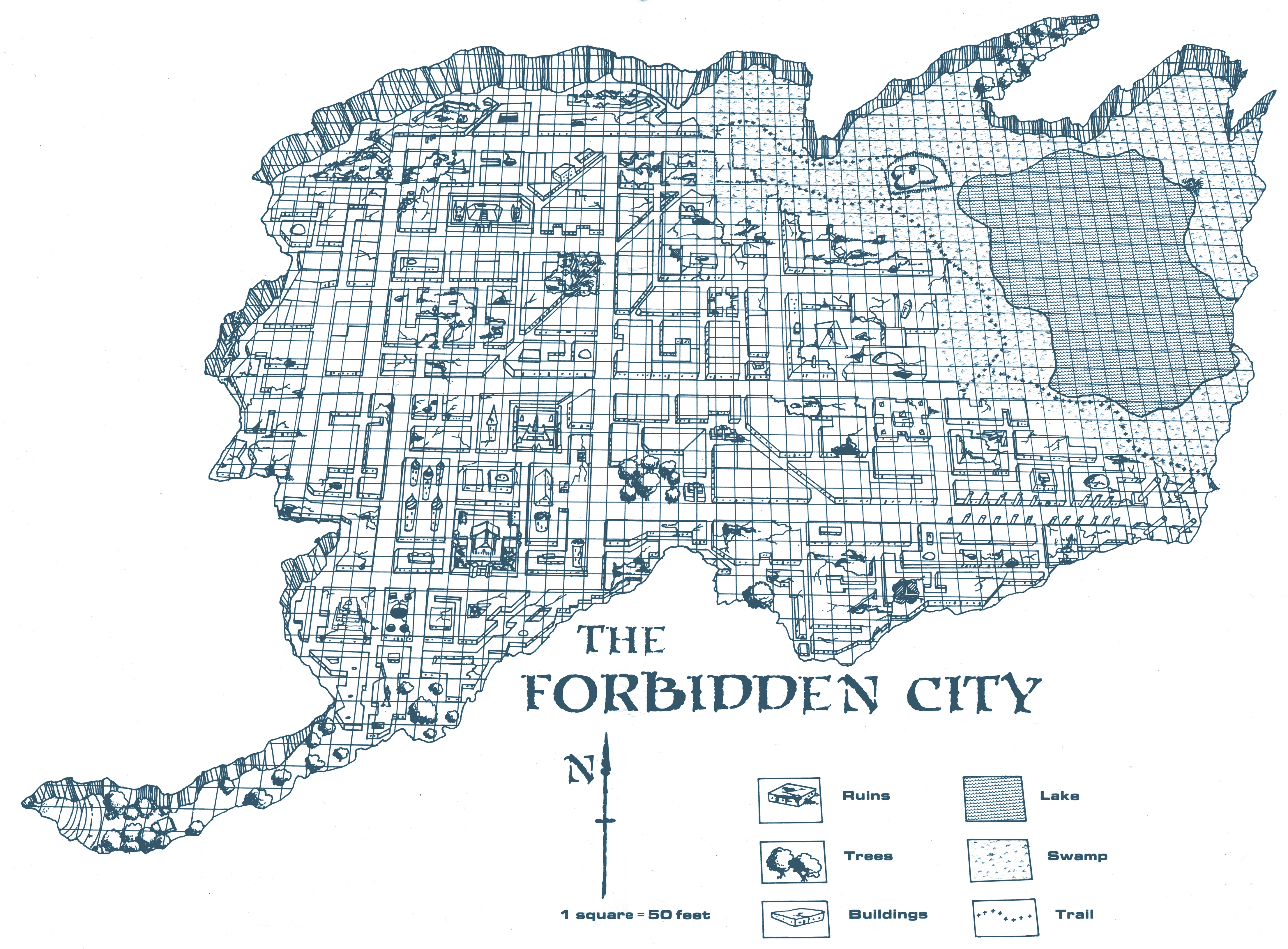 Dwellers in the Forbidden City The City Map Dysons Dodecahedron