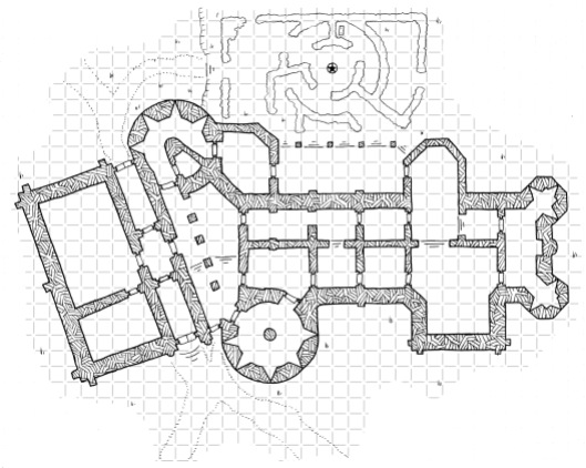 Chateau d'Aubergine (with grid)