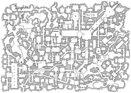 Mapper's Challenge II - The Deep Halls (no grid)
