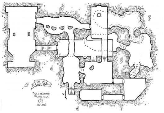 Dellorfano Protocols Dungeon 1 (no grid)