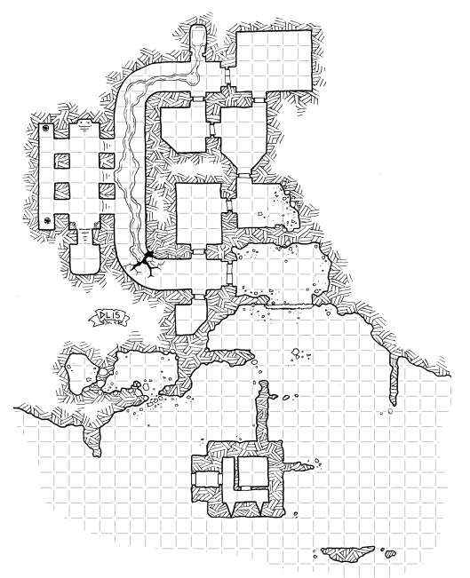 Lady White's Ruins (with grid)